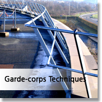 Garde sorps technique métallique OHREL menu